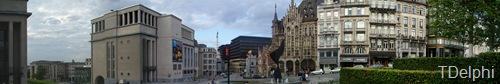 Панорамный вид рядом с центральным вокзалом