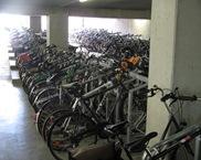 Стоянка велосипедов в Брюгге
