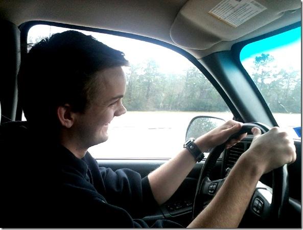 jacob driving