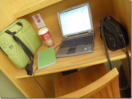 blogging at library