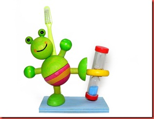 HeidiKids Toothbrush Timer Funny Frog
