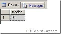 Median in SQL