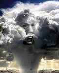 Jehová enfurecido