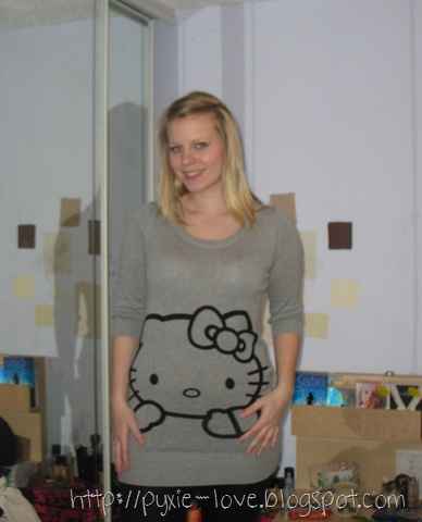 Hello Kitty Jumper. I picked up this Hello Kitty