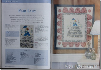 Fair Lady in Magazine