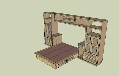 Bedroom Wall Unit on Bedroom Wall Unit  4  Design Phase Is Complete   By Depictureboy