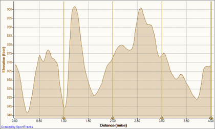 11 Aug 10 8-11-2010, Elevation - Distance