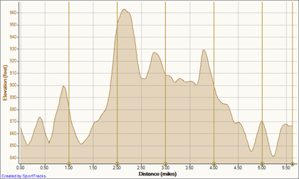 04 Sep 10 9-4-2010, Elevation - Distance