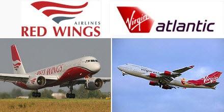 Red Wings Virgin Atlantic