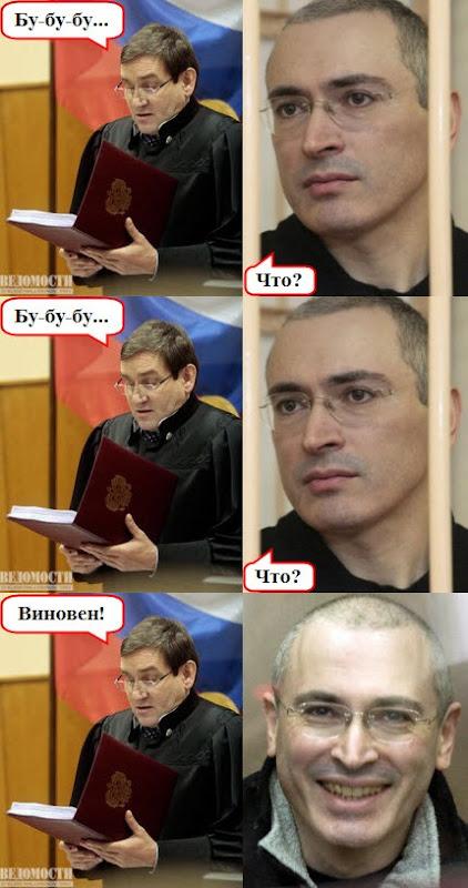 Приговор Михаилу Ходорковскому