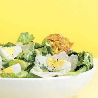 Caesar Salad with Hard-Cooked Eggs