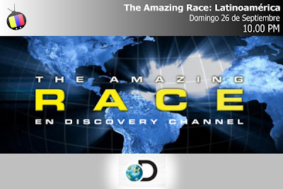 Estreno: The Amazing Race en Discovery Channel