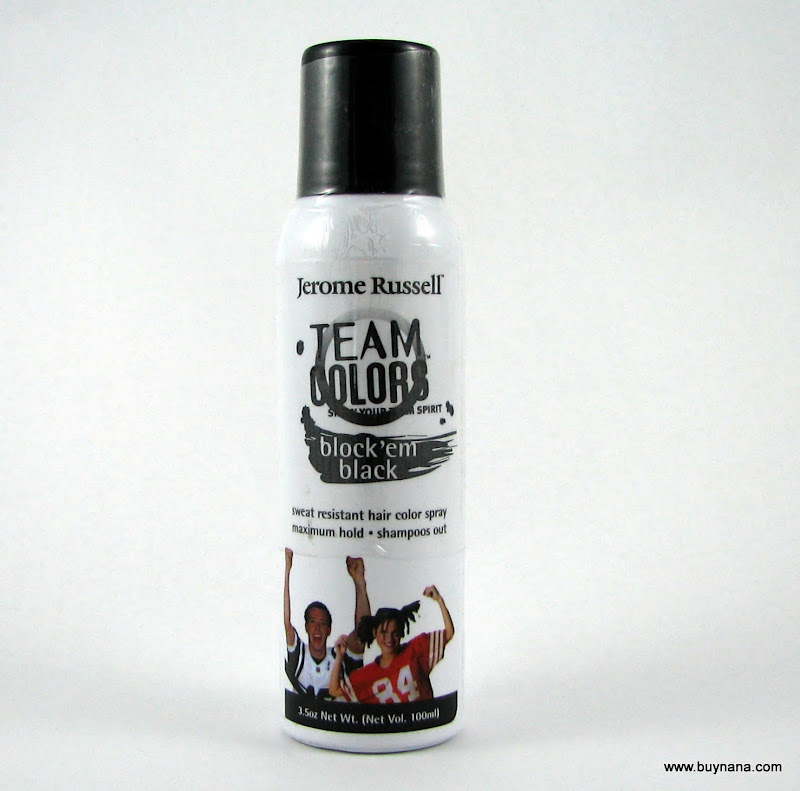 Jerome Russell Team Colors Temporary Hair Spray