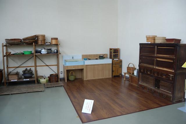 昔の台所・名古屋市博物館の写真