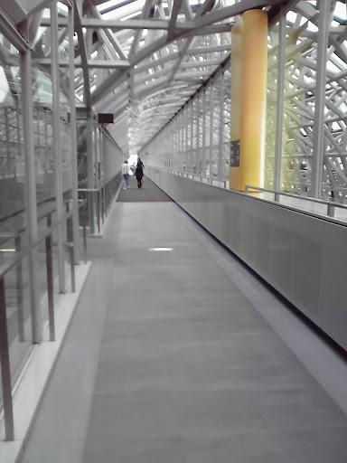京都駅ビル展望通路からの写真