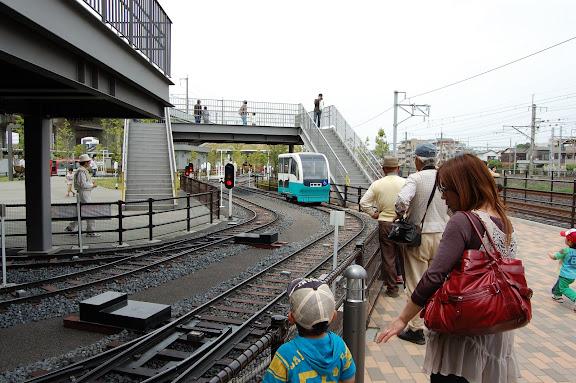 鉄道博物館ミニ列車運転写真