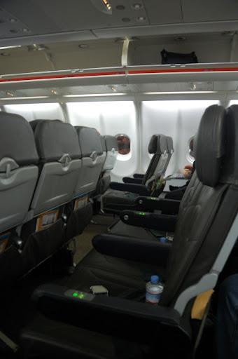 ジェットスターの座席の写真