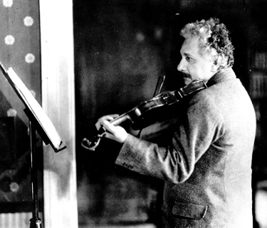 Эйнштейн со скрипкой...