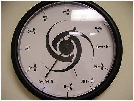 Часы для математиков