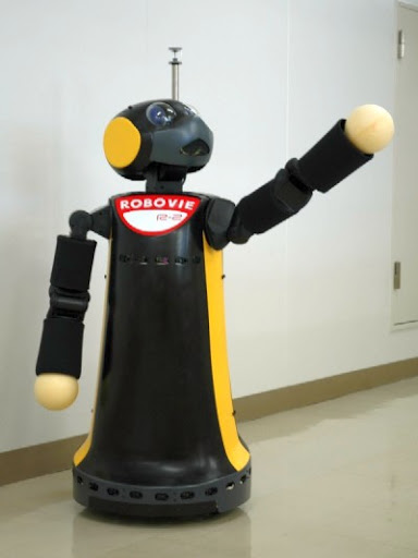 Робот Robovie-R, Япония