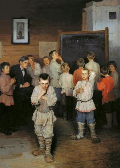 Устный счёт - Николай Богданов-Бельский