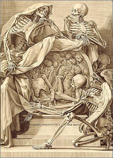 Bernardino Genga (1636?-1734?) (anatomist) Charles Errard (1609?-1689) (artist), Rome, 1691. Copperplate engraving