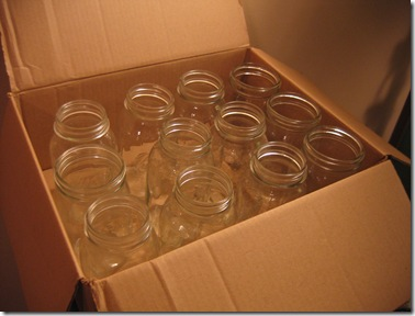 a box of jars