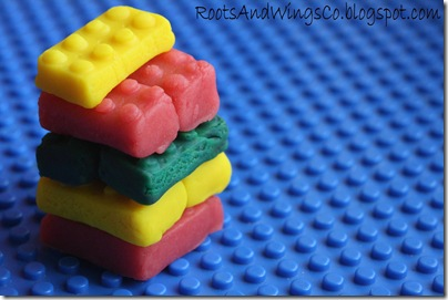 kool aid playdough legos 4