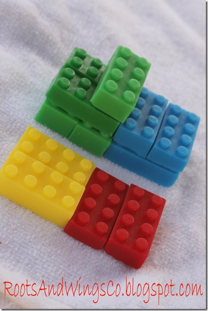Lego Soap-Make Your Own Mold!