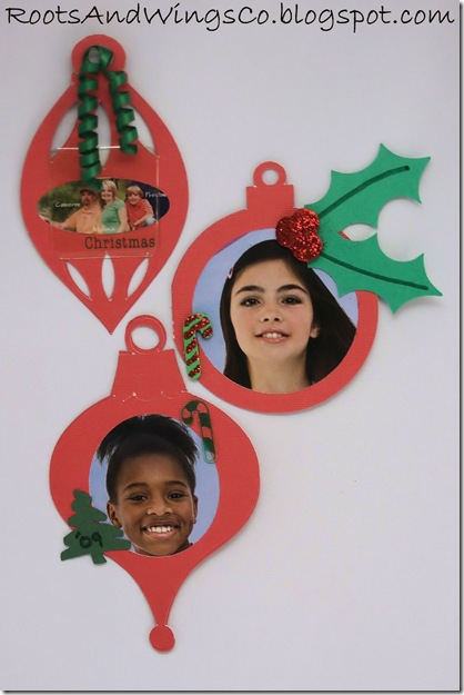 christmas photo ornament g