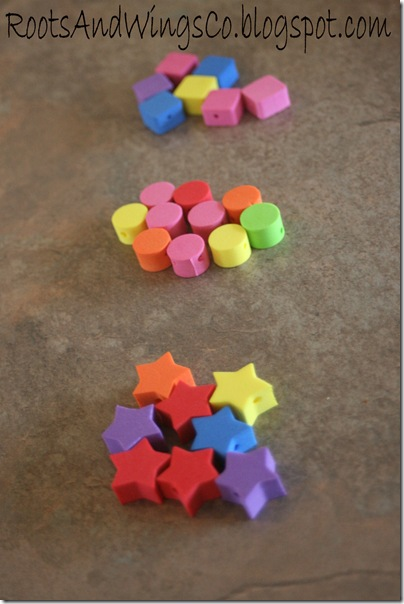 preschool sorting f