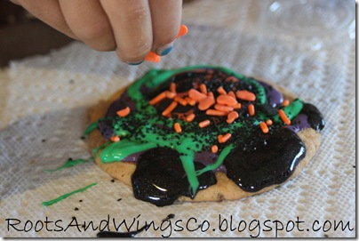 halloween cookie decorating h