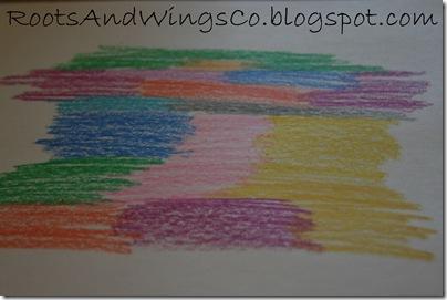 crayon etching i
