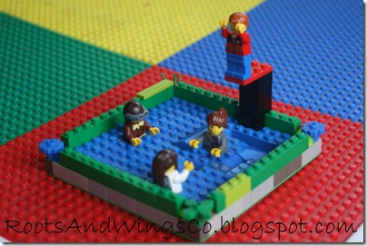 creative kids lego pool