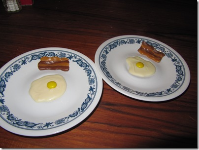 april fools day bacon and sunnyside up egg