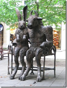 IMG_0001 Hare and Mynator Sculpture