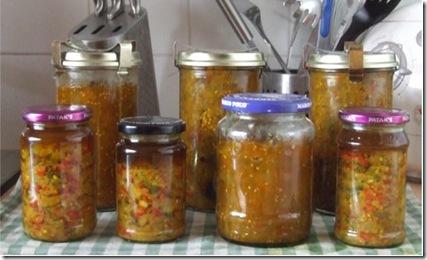 Brinjal pickles