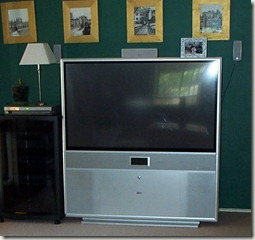 Rear Projection TV