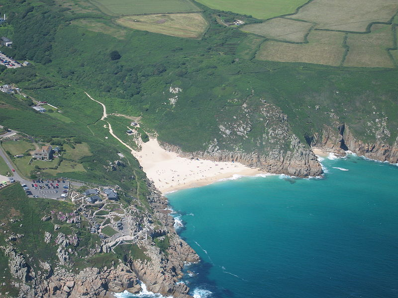 Porthcurno, once Cornwall's greatest port? (Photo by <a href='http://tomcorser.com'>Tom Corser</a> licensed under <a href='http://creativecommons.org/licenses/by-sa/2.0/uk/deed.en_GB'>Creative Commons Attribution ShareAlike 2.0 England & Wales (UK) Licence</a>)