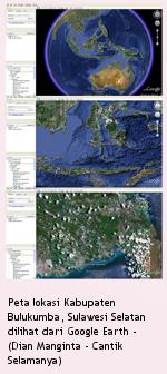 Peta Kabupaten Bulukumba