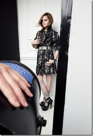 emma watson burberry ad. Burberry#39;s Spring collection