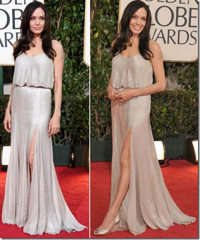 Angelina Jolie Dresses