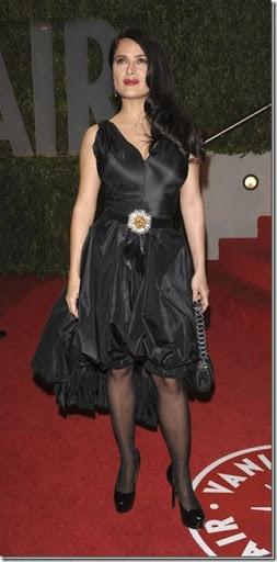 2009 الفساتين Salma_Hayek_arrives_