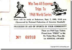 Dad -- 1968 World Series Contest