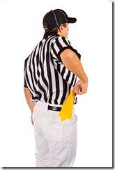 Photo of a Referee - Penalty
