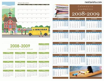 calendarios 2009