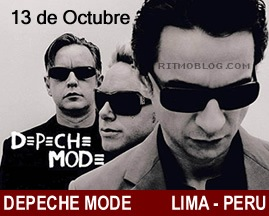 Depche Mode Peru