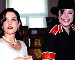 Lisa Marie, pareja de Jackson