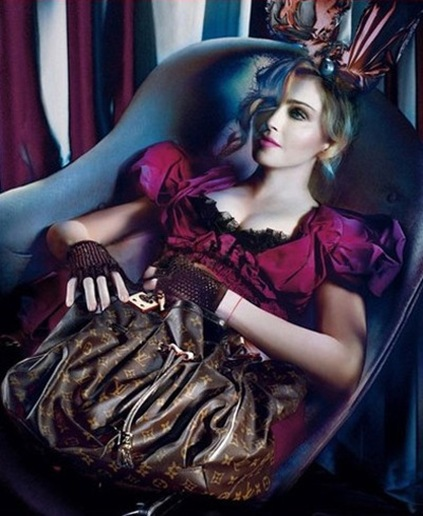madonna Louis Vuitton