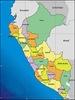 Mapa del Perú por Departamentos